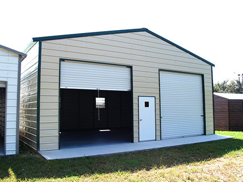 Portable Steel Car Ports : Portable metal steel carports buildings